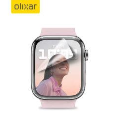 Olixar Apple Watch Series 7 45mm Film Screen Protector - 2 Pack