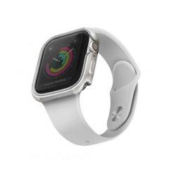 UNIQ Valencia Apple Watch Series 7 41mm Titanium Case - Silver