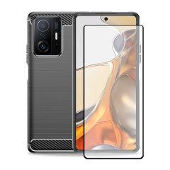 Olixar Sentinel Xiaomi Mi 11T Case & Glass Screen Protector