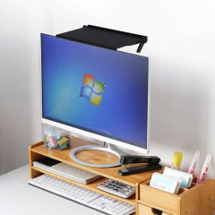 Olixar Attachable 33cm Desktop Storage Shelf For PC Monitors