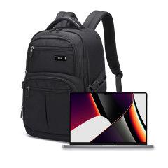 "Olixar Xplorer MacBook Pro 14"" 2021 Travel Backpack - Black"
