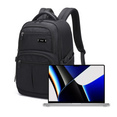 "Olixar Xplorer MacBook Pro 16"" 2021 Travel Backpack - Black"