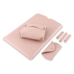 "Olixar MacBook Pro 14"" 2021 Sleeve & Coordinated Accessory Pack - Pink"