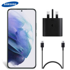Official Samsung Galaxy S22 25W UK Wall Charger & 1m USB-C Cable