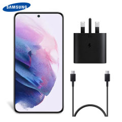 Official Samsung Galaxy S22 Plus 25W UK Wall Charger & 1m USB-C Cable