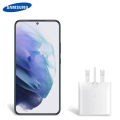 Official Samsung Galaxy S22 25W PD USB-C UK Wall Charger - White