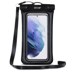 Olixar Samsung Galaxy S22 Waterproof Pouch - Black