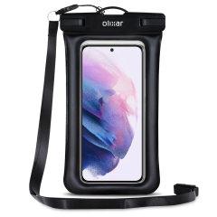 Olixar Samsung Galaxy S22 Plus Waterproof Pouch - Black