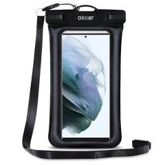 Olixar Samsung Galaxy S22 Ultra Waterproof Pouch - Black