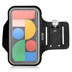 Olixar Google Pixel 6 Running & Fitness Armband Holder - Black