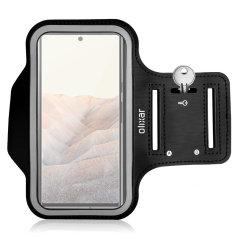 Olixar Google Pixel 6 Pro Running & Fitness Armband Holder - Black