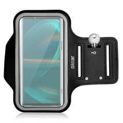 Olixar Sony Xperia 5 III Running & Fitness Armband Holder - Black