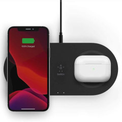Belkin AirPods 3 Boost Charge 15W Dual Wireless Charging Pad - Black