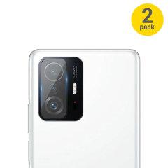 Olixar Xiaomi Mi 11T Camera Protectors - Twin Pack