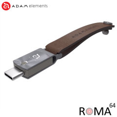 Adam Elements ROMA USB-C 64GB Dual Memory Stick - Space Grey
