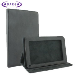 Adarga Folio Horizontal Stand Kindle Fire Case - Black