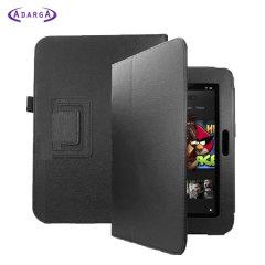 Adarga Folio Stand Amazon Kindle Fire HD 8.9 Case - Black