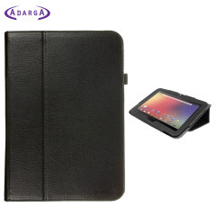 Adarga Folio Stand Google Nexus 10 Case - Black