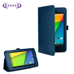 Adarga Folio Stand Google Nexus 7 Case - Blue