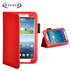 Adarga Folio Stand Samsung Galaxy Tab 3 7.0 Case - Red