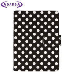 Adarga Google Nexus 7 2013 Stand and Type Case - Black Polka