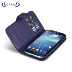 Adarga Samsung Galaxy S4 Wallet Case - Purple