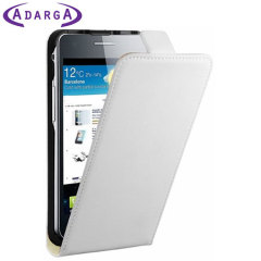 Adarga Smart Stand Samsung Galaxy S2 Flip Case - White