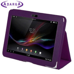 Adarga Sony Tablet Xperia Z Stand and Type Case - Purple