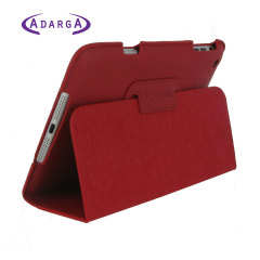 Adarga Stand and Type Case for iPad Mini 3 / 2 / 1 - Red