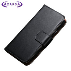 Adarga Stand and Type Samsung Galaxy Avant Wallet Case - Black