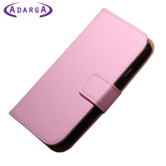 Adarga Stand and Type Samsung Galaxy Avant Wallet Case - Pink