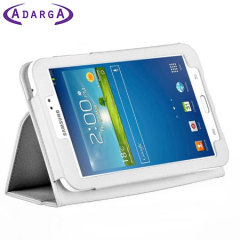 Adarga Stand and Type Samsung Galaxy Tab 3 8.0 Case - White