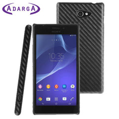 Adarga Twilled Back Sony Xperia M2 Case - Black