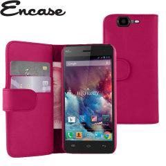 Adarga Wiko Highway Wallet Case - Pink