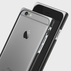 Adopted Aluminium Leather iPhone 6S Plus / 6 Plus Bumper Case - Grey