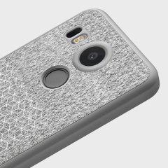 Adopted Soft Microfibre Nexus 5X Case - Quartz