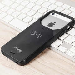 aircharge MFi  Qi iPhone SE Wireless Charging Case - Black