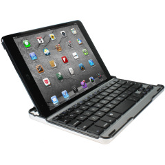 Aluminium Bluetooth Keyboard Stand for iPad Mini 3 / 2 / 1 - Black