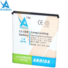 Andida Samsung Galaxy Mini Extended Battery - 1750mAh