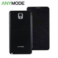 Anymode Folio Case Saffiano for Galaxy Note 3 - Black