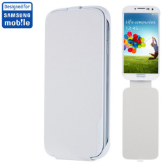 Anymode Samsung Galaxy S4 Flip Case - White