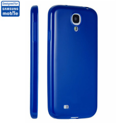 Anymode Samsung Galaxy S4 Jelly Case - Blue