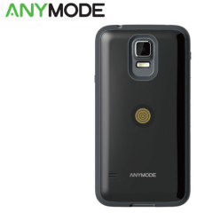 Anymode Samsung Galaxy S5 Magnet Charging Case and Cable - Black