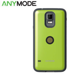 Anymode Samsung Galaxy S5 Magnet Charging Case and Cable - Lime