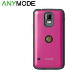 Anymode Samsung Galaxy S5 Magnet Charging Case and Cable - Pink