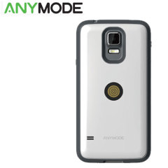 Anymode Samsung Galaxy S5 Magnet Charging Case and Cable - White