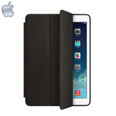 Apple Leather Smart Case for iPad Air - Black