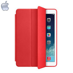 Apple Leather Smart Case for iPad Air - Red