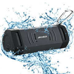 Archeer A210 Outdoor Rugged 10W Waterproof Bluetooth Speaker - Black