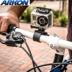 Arkon GoPro & Action Camera Bike / Motorcycle Handlebar Strap Mount